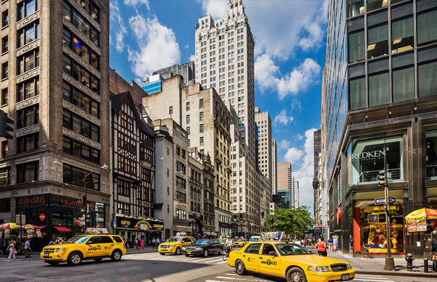 5th Avenue, New York in USA