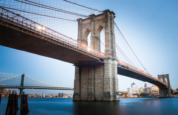 Brooklyn Bridge in USA