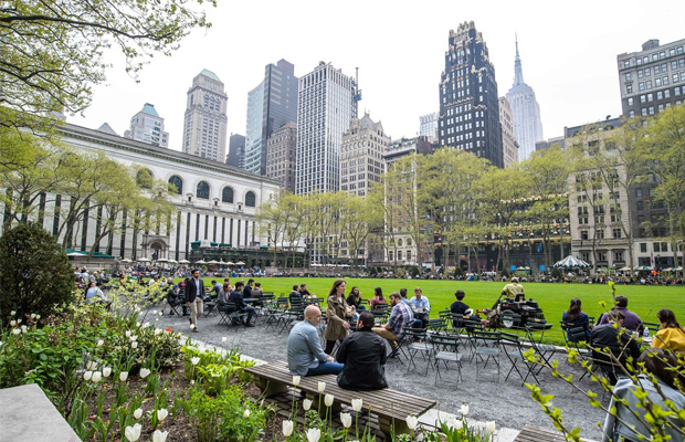 Bryant Park in USA