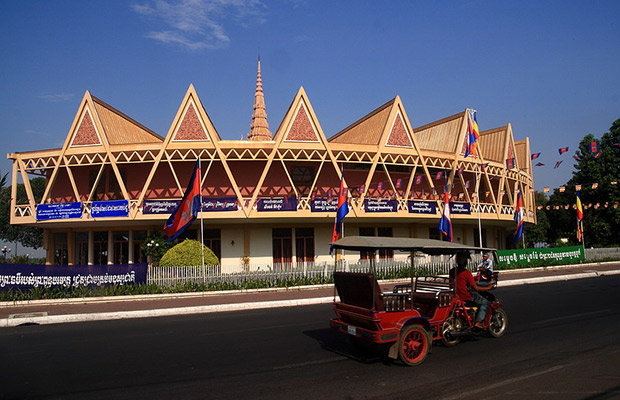 Chaktomuk Conference Hall in Cambodia