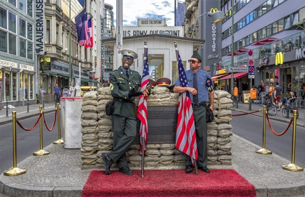 Checkpoint Charlie in Germany