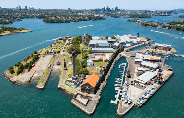 Cockatoo Island in Australia