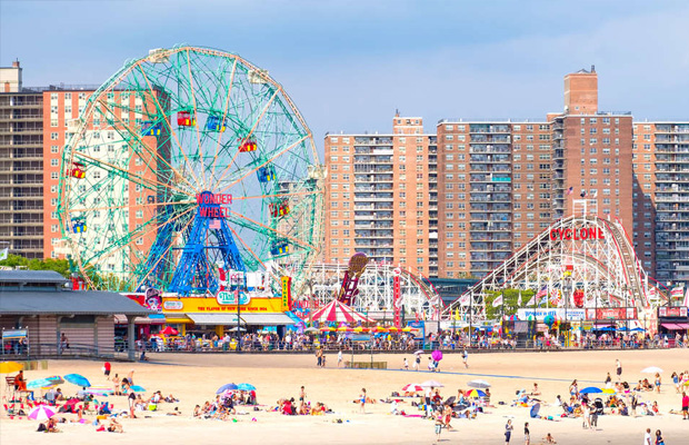 Coney Island in USA