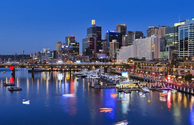 Darling Harbour in Australia