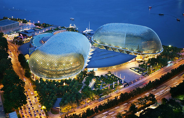 Esplanade - Theatres on the Bay in Singapore