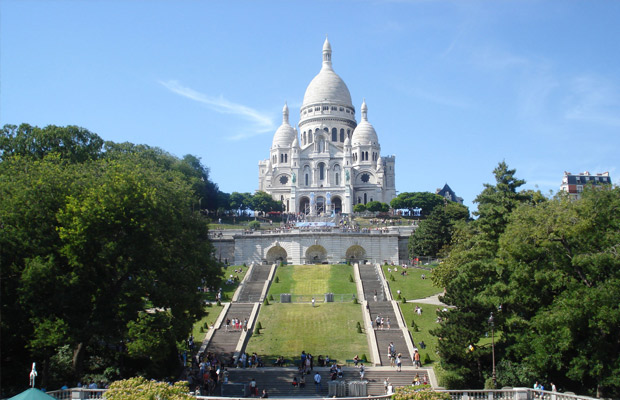 Montmartre in France
