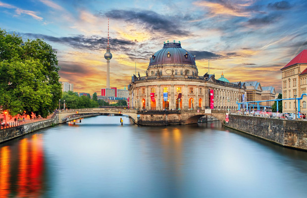 Museum Island Berlin in Germany
