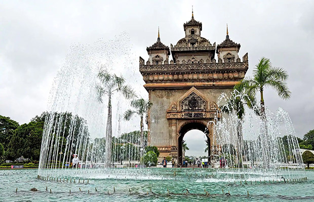 Patuxai Victory Gate in Laos