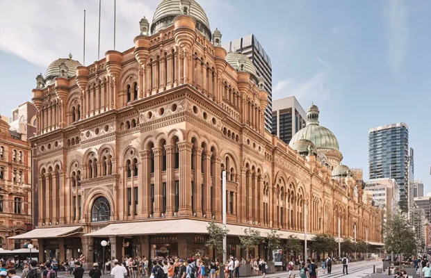 Queen Victoria Building in Australia