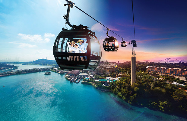 Singapore Cable Car in Singapore