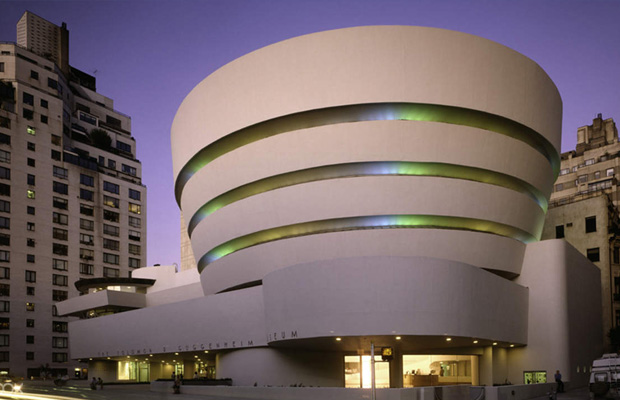 Solomon R. Guggenheim Museum in USA