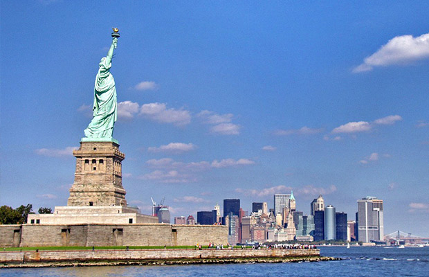 Statue of Liberty National Monument in USA