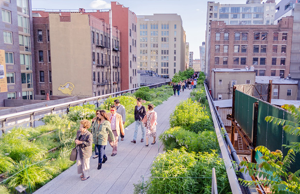 The High Line in USA
