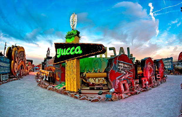 The Neon Museum in USA