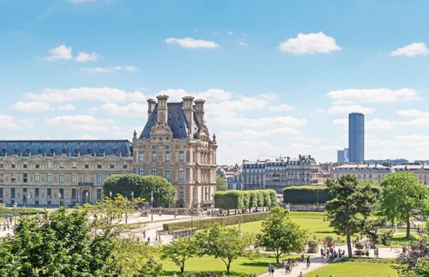 Tuileries Garden in France
