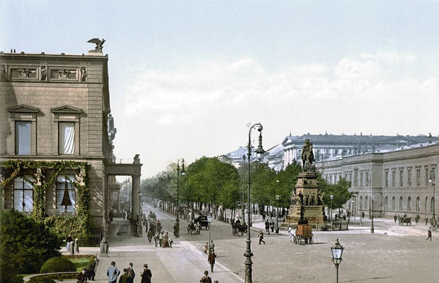 Unter den Linden Berlin in Germany