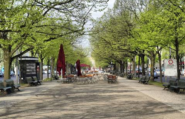 Unter den Linden in Germany